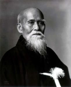 Morihei Ueshiba, O Sensei
